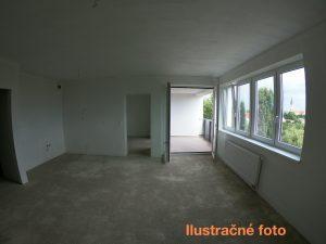 2 izbový byt Zlaté Moravce s terasou