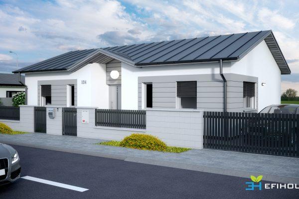 Rodinný dom – novostavba, Zlaté Moravce Efi House