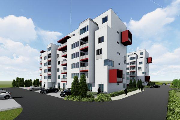 Trojizbový byt s terasou na prízemí, bytový dom SO 105 2021 ŽITAVA II