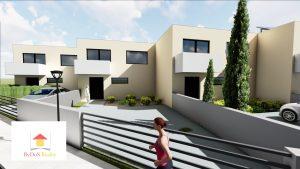 nové rodiiné domy v Zlatých Moravciach