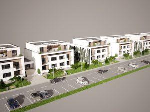 Bytové domy Vráble - Horný Ohaj II