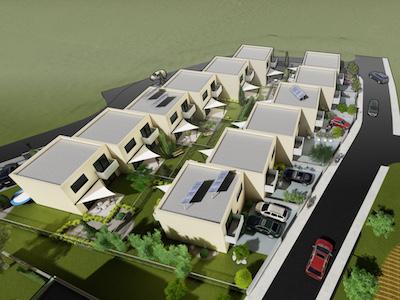 Prvá Radová Zlaté Moravce - rodinné domy