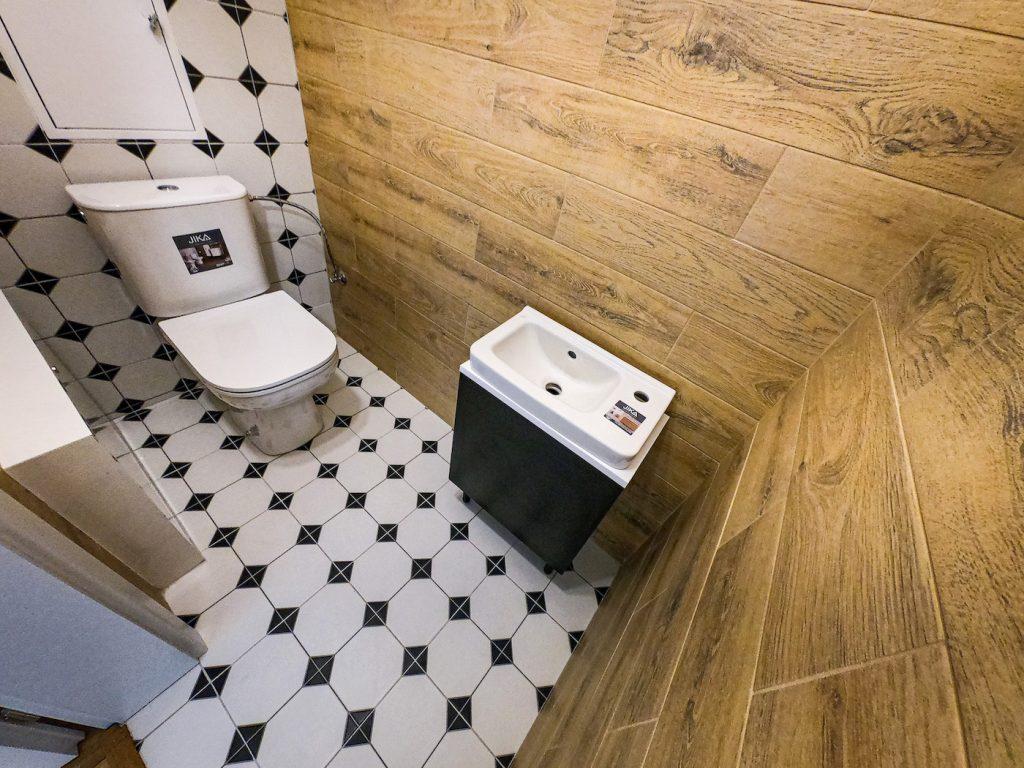 vzorový byt WC
