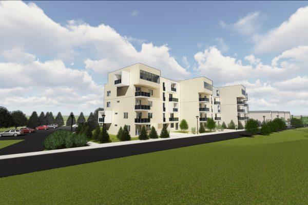 Trojizbový byt so šatníkom, bytový dom ViOnovce 2020