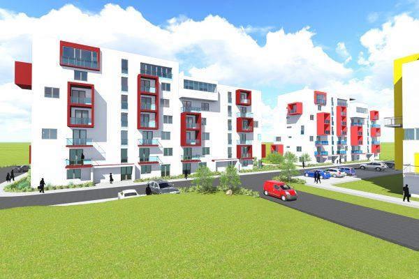 Trojizbový byt s terasou, bytový dom SO 104 2019 ŽITAVA II