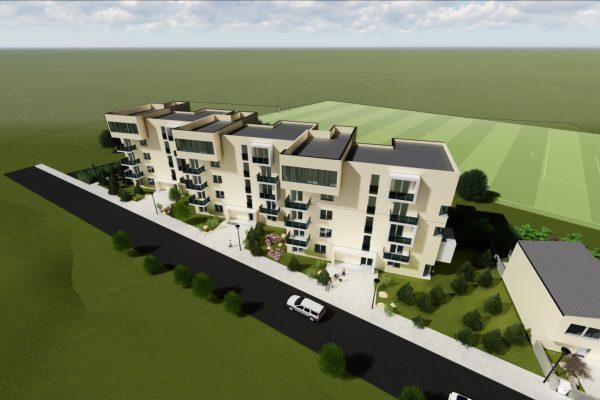 Trojizbový byt s balkónom, bytový dom ViOnovce 2020